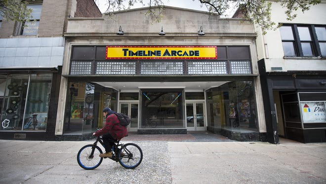 Timeline Arcade is located on 54 W. Market St., York, a block that has seen rapid new business growth in recent years.