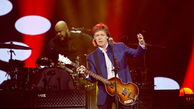 """Paul McCartney brought his """"One on One"""" tour to the U.S. Bank Arena Sunday night."""