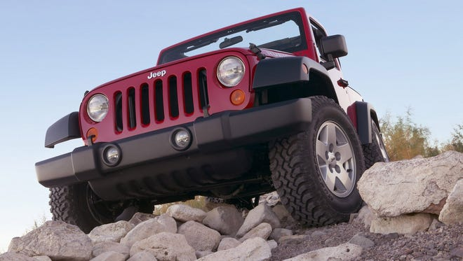 The 2007 Jeep Wrangler Rubicon