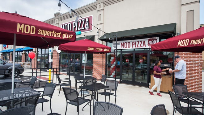 A MOD Pizza in York Township Tuesday August 2, 2016.