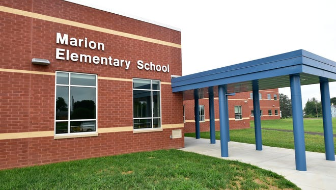 Students and faculty at Marion Elementary, seen on Wednesday, August 10, 2016, in the Chambersburg Area School District will enter a brand new school this fall.