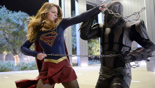 "Melissa Benoist is back as ""Supergirl,"" as the series begins a new season on a new network, CW."