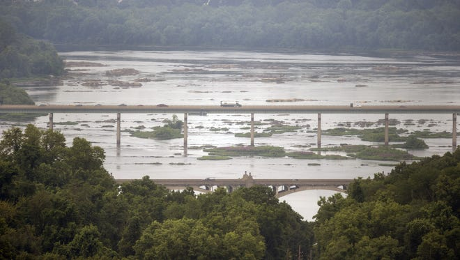 Officials are monitoring the Susquehanna River after gasoline spilled into a tributary in northern Pennsylvania overnight Thursday.