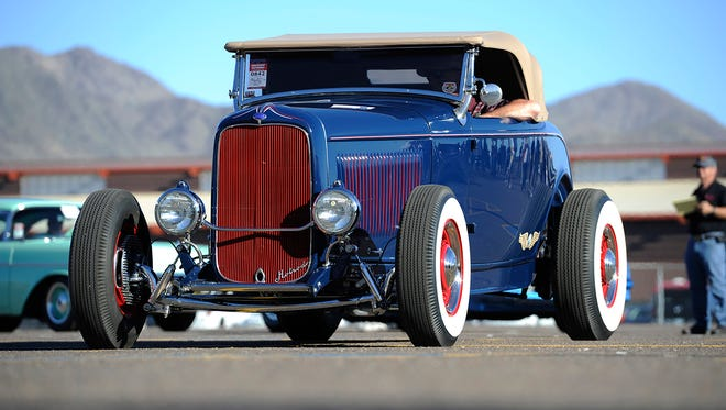 At the Goodguys Southwest Nationals, car owners from around the country showcase different classic cars, rod rods, custom vehicles and muscle cars.