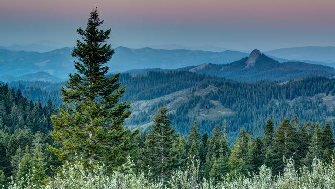 Views across the Cascade Siskiyou National Monument