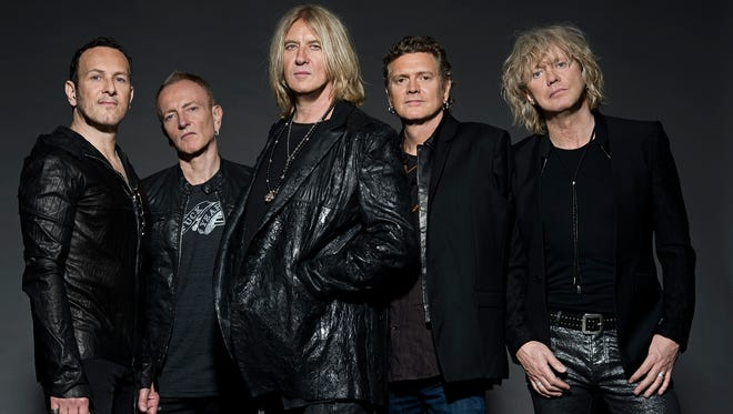 Def Leppard comes to Wells Fargo Arena on April 24.