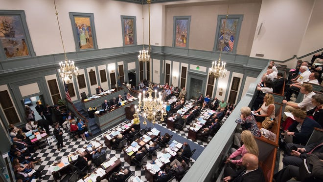 A session of the Delaware House of Representatives.