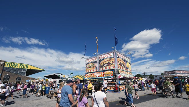 It was a beautiful day at the York Fair in this photo from Sunday, Sept. 11, 2016.