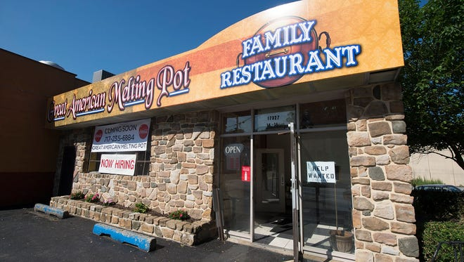 The Great American Melting Pot in Glen Rock closed in November, citing bad business.