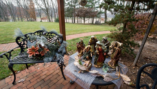 Image of Christmas decorations. Fairview Township Police say a wide variety of decorations have been taken recently from several neighborhoods.