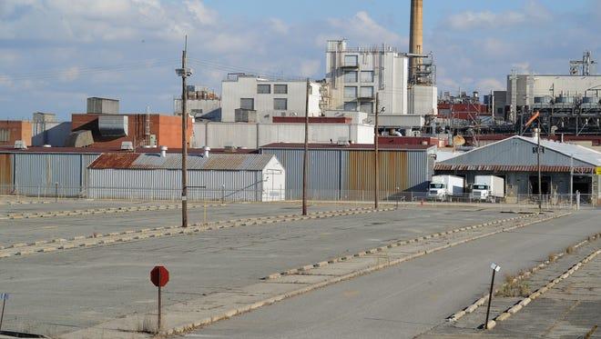 View of the Invista plant in Seaford.