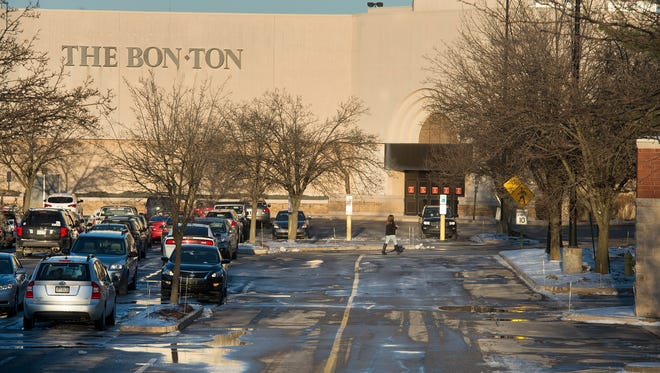 The Bon-Ton store at the York Galleria in Springettsbury Township is pictured.