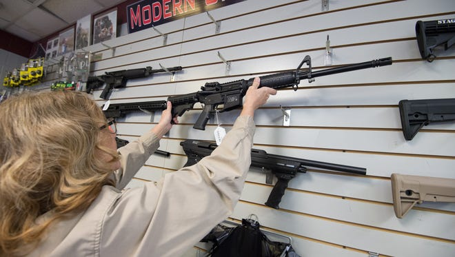 Beth Parsons, owner of Shooter's Choice in Dover, said a decision to end sales of weapons such as the AR-15 at Dick's Sporting Goods isn't one she supports for her own store.