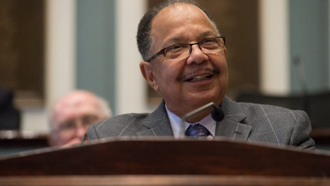 """State Rep. James """"J.J."""" Johnson, D-New Castle, announced he will not seek re-election to an eighth term, marking the eighth state legislator who will depart at the end of the year."""