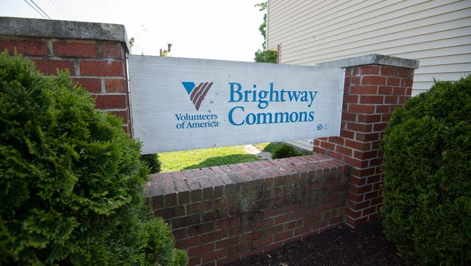 Brightway Commons apartment complex in Milford where they have had multiple shooting incidences.