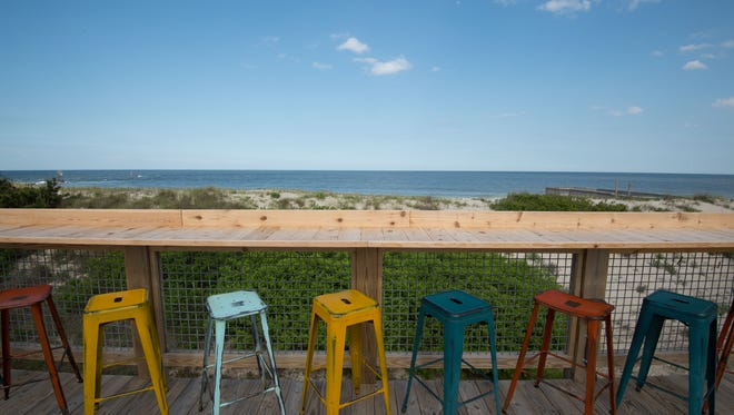 Big Chill Beach Club located next to the Indian River Inlet.