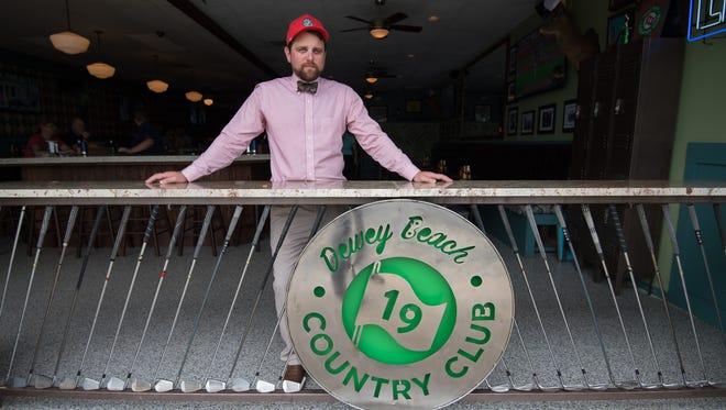 Greg Plummer, owner of Dewey Beach Country Club in Dewey Beach.