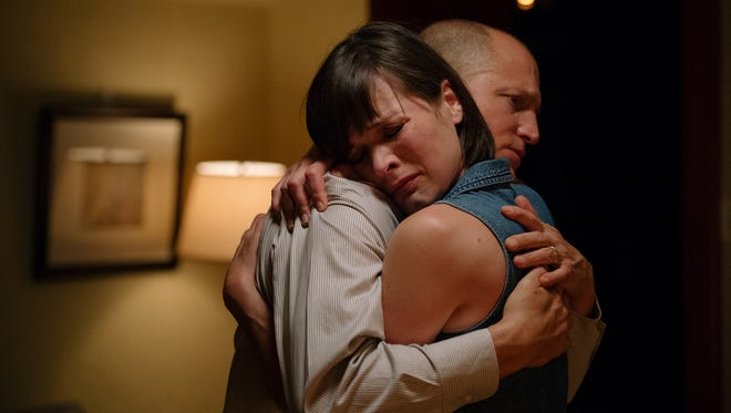 """Milla Jovovich and Woody Harrelson star in """"Shock and Awe."""""""