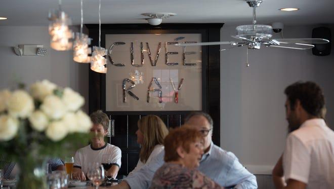 Cuvée Ray wine bar restaurant in Rehoboth Beach.