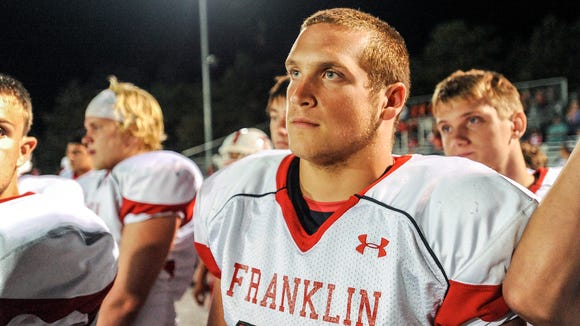 Franklin senior Jeremiah Young.