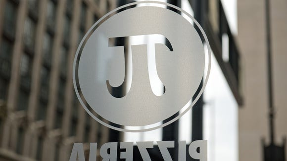 Window dressing bears the company logo.