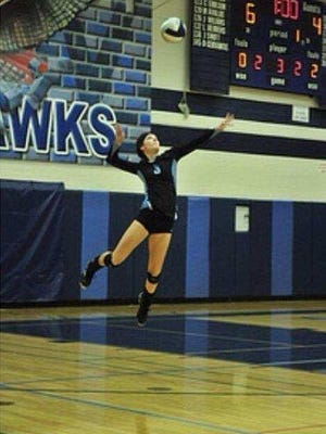 Deer Valley senior volleyball player Kobie Dunn committed to Grand Canyon University.