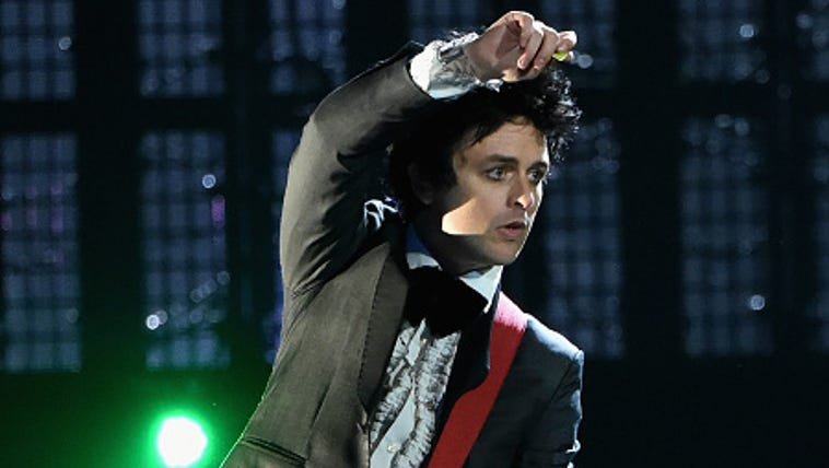 onstage during the 30th Annual Rock And Roll Hall Of