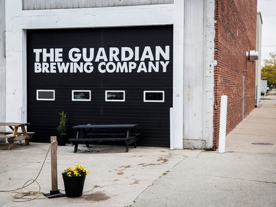 Entrance to the Guardian Brewing Company in MadJax.