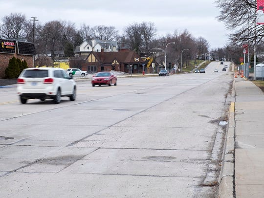 St. Clair officials officially signed off on the road