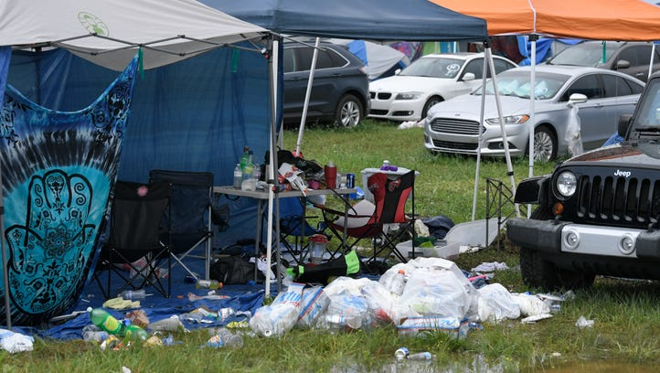 Here's what happens to all the items left behind at Bonnaroo this year