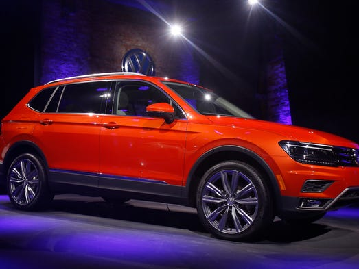 The 2018 Volkswagen Tiguan is released during the North