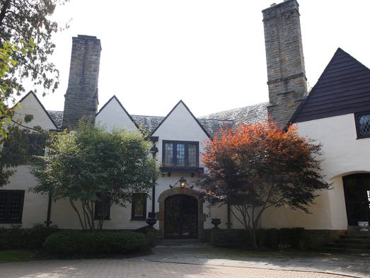 This rambling Tudor manor house is 93 years old with