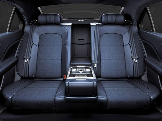 Rhapsody Interior Challenged Lincoln Highlights Brand Heritage