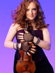 Violinist Rachel Barton Pine will perform Oct. 8 with the Hudson Valley Philharmonic at the Bardavon 1869 Opera House, Poughkeepsie.