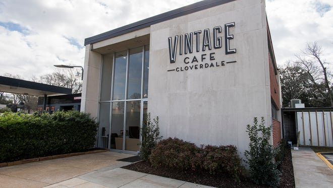 Vintage Cafe opened inside a converted bank building in Cloverdale in 2018.