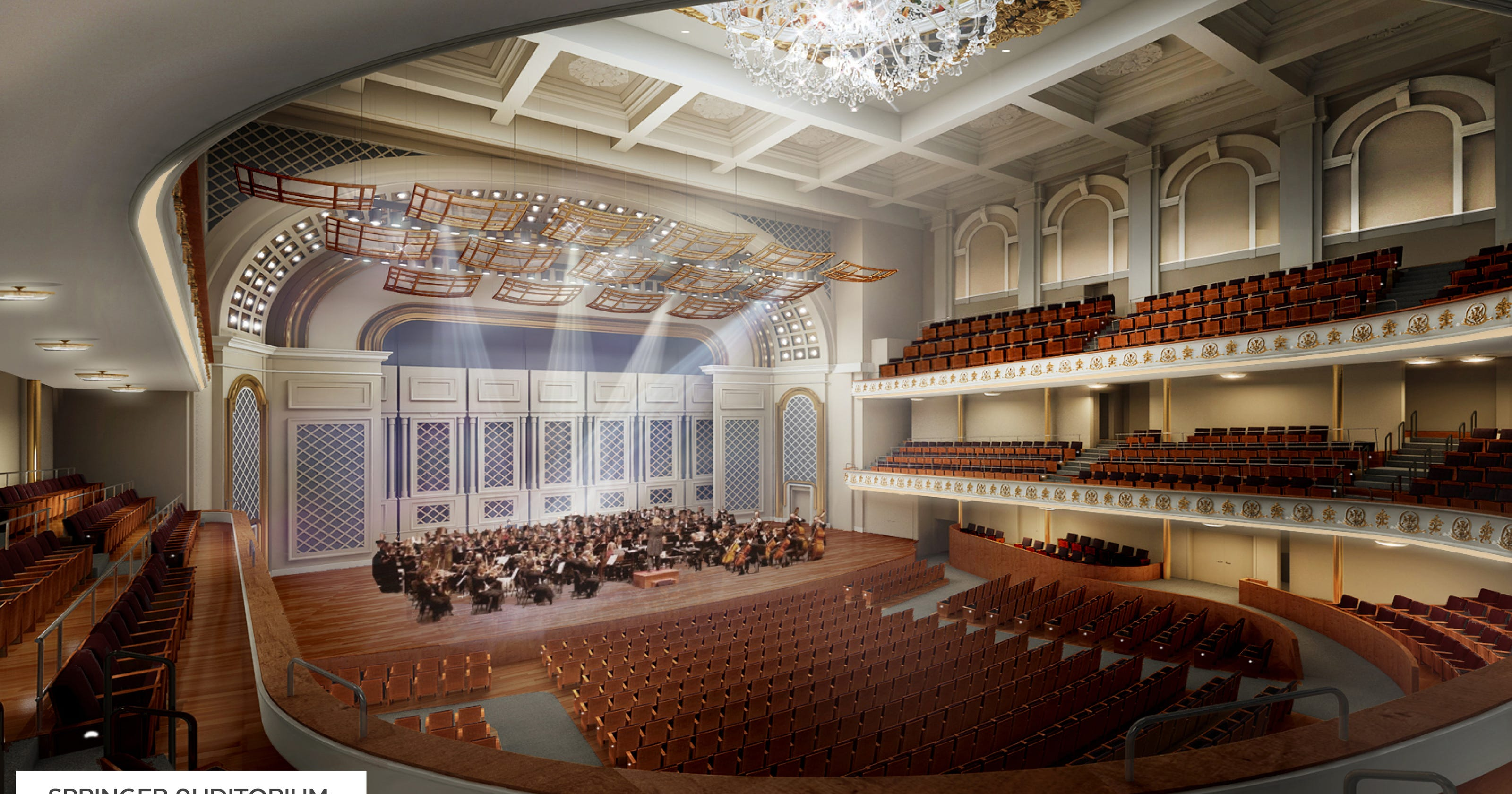 In legendary music hall acoustics matter