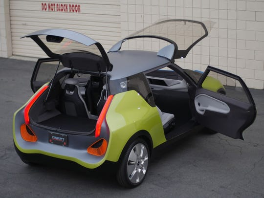 A team of Clemson University graduates spent the last three years redesigning BMW's iconic Mini car with the drivers of 2025 in mind.
