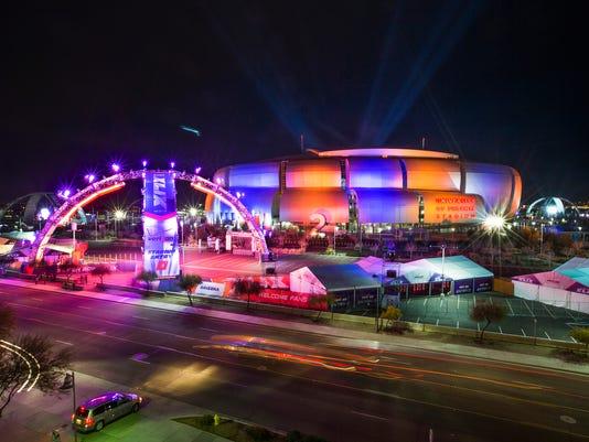 Super Bowl Lights
