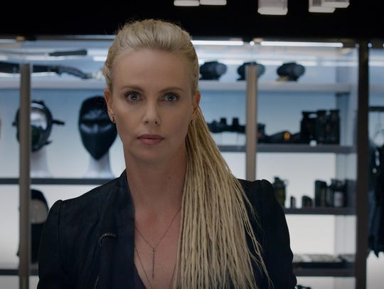 "Charlize Theron stars as Cipher in ""The Fate of the"