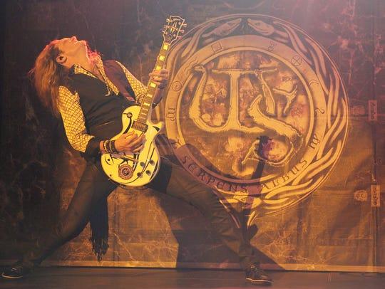 Joel Hoekstra of Whitesnake performs at the Hard Rock