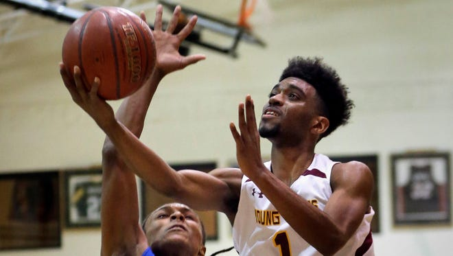 Young Coggs senior guard Jontae Peterson scored his 1,500th point last week.