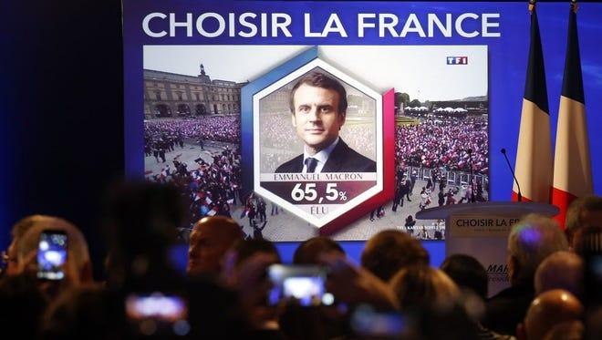 President-elect Emmanuel Macron