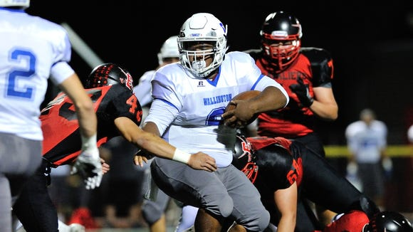 Wallington RB Elijah Mitchell has rushed for 926 yards
