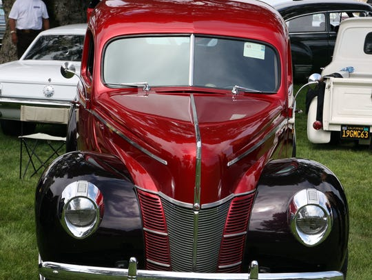 Vintage cars, beautifully restored, will be on display