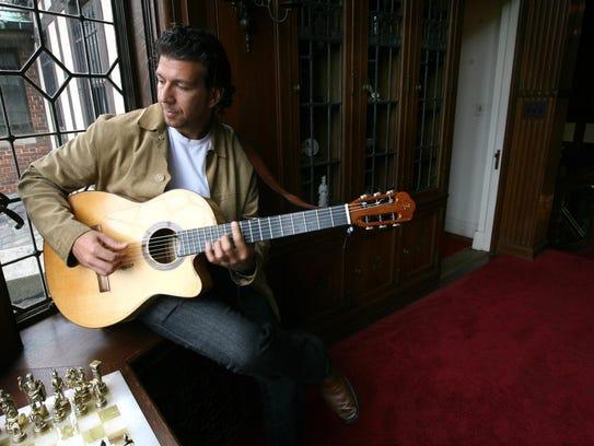 Musician Sean Blackman.