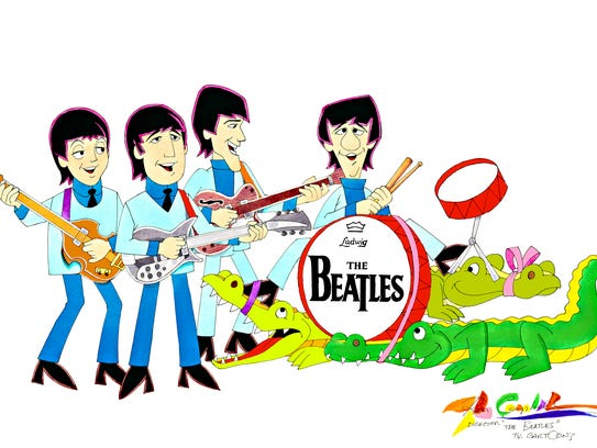 """""""The Beatles"""" cartoon aired from 1965 to 1969."""