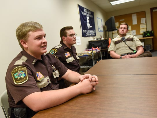 Stearns County Explorers Cole Thoma and Brett Schramel