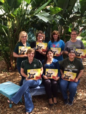 Linda Erwin (top row from left), Little Bay Primary; Melodee Field, Aransas County Public Library; Jan Broom, Odessey After School; Lea Gilliland, ABC Learning Center; Kathy Stephenson (bottom row from left), Little Bay Primary; Patsy Aparicio, Head Start; and Yvonne Way Mundine, ACISD Parent Resource Center.