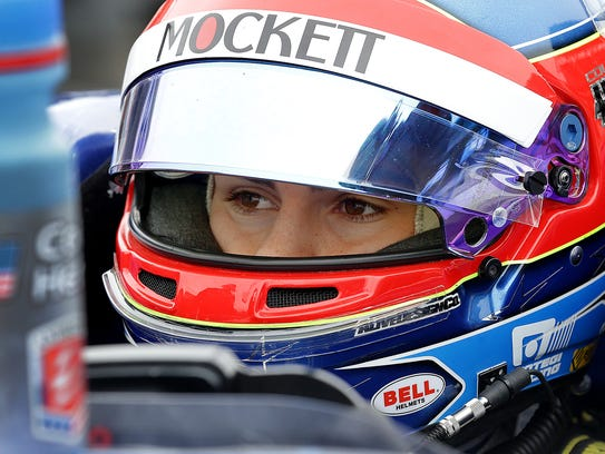 Rookie driver Colton Herta, son of former IndyCar drives