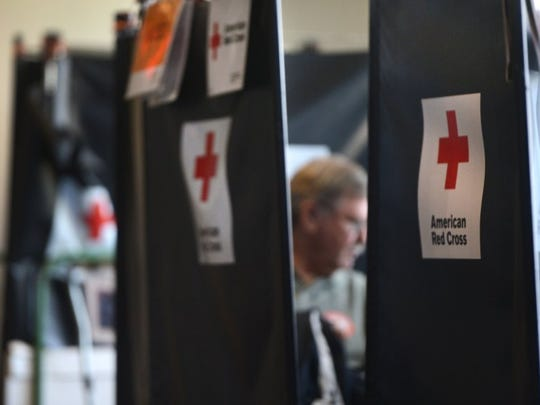 Consider giving blood this Valentine's Day. STAR FILE PHOTO